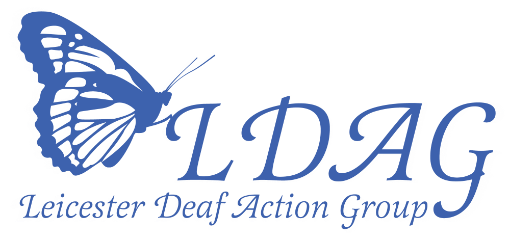 ldag logo with white glow transparent